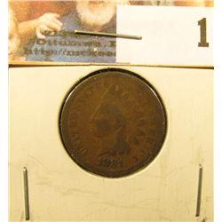1881 Indian Head Cent, Good.