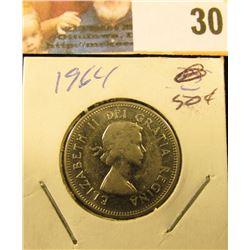 1964 Gem Uncirculated Canada Nickel