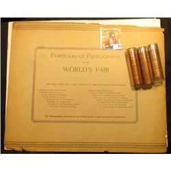 "No. 2 ""Portfolio of Photographs of the World's Fair"" No back cover, front cover loose; (2) full & (1"