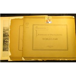 "A couple of groups of ""Portfolio of Photographs of the World's Fair"", Copyright 1893"