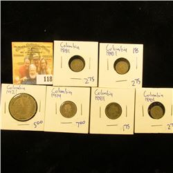COLUMBIA COIN LOT  DATING BACK TO 1914
