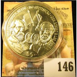 COIN COMMEMORATING THE BATTLE OF GETTYSBURG