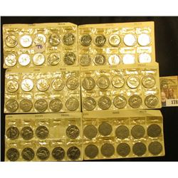 CANADIAN NICKEL SET INCLUDES 10 1932 NICKELS, 9 X 1970, 10 X 1967, 10 X 1963, AND 10 X 1972