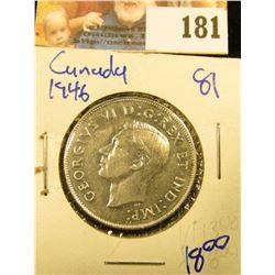 1946 CANADIAN SILVER HALF DOLLAR