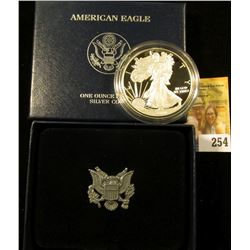 2010 american silver eagle with box and coa