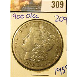 1900 O/CC OVERDATE MORGAN SILVER DOLLAR