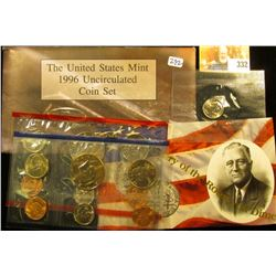 1996 MINT SET… THIS INCLUDES THE WESTPOINT DIME.  THI SET BOOKS FOR AROUND $20