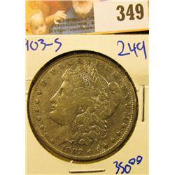 1903-S SEMI KEY DATE MORGAN DOLLAR