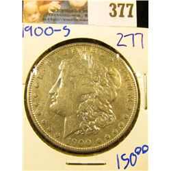 1900-S MORGAN SILVER DOLLAR