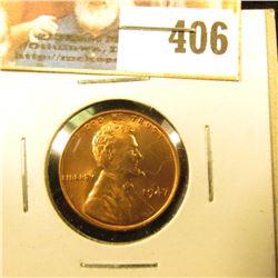 1947 P U.S. Lincoln Cent, Gem BU.
