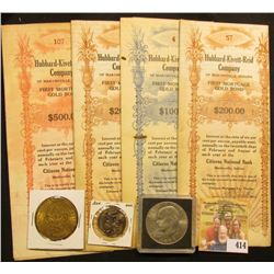 "$200 First Mortgage Gold Bond ""Hubbard-Kivett-Reid Company of Martinsville, Indiana""; Arkansas Parod"