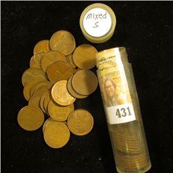 (47) Old San Francisco Mint U.S. Wheat Cents. Various grades.