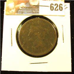 1851 U.S. Large Cent, VG.