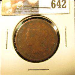 1843 U.S. Large Cent, G.