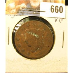 1833 U.S. Large Cent, VG.