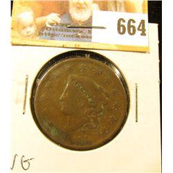 1831 U.S. Large Cent, VG.