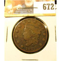 1825 U.S. Large Cent, Good.