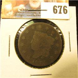 1822 U.S. Large Cent, Good.