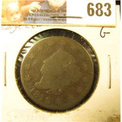 1819 U.S. Large Cent, Good