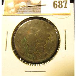 1818 U.S. Large Cent, Good