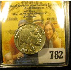 1935 P Buffalo Nickel, AU.