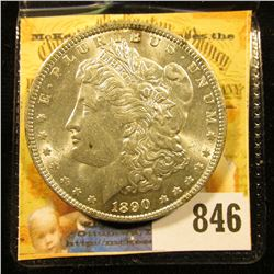 1890 P U.S. Morgan Silver Dollar. Uncirculated.
