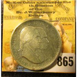 1776-1926 Sesquicentennial Commemorative Half Dollar. AU.