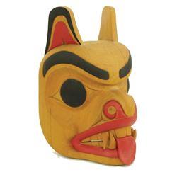 NW Coast Mask - Gerry Sheena, Salish (b.1964)