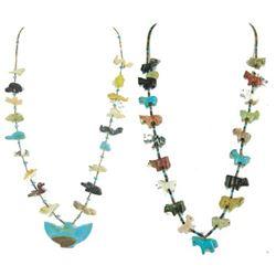 2 Pueblo Fetish Necklaces