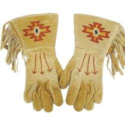 Paiute Beaded Gauntlets
