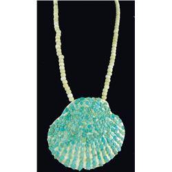 Pueblo Shell Pendant