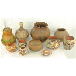 Box Lot of Pottery