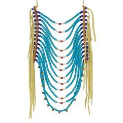 Plateau Beaded Loop Necklace
