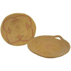 2 Jicarilla Apache Baskets
