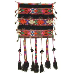 Woven Camel Saddle Bag