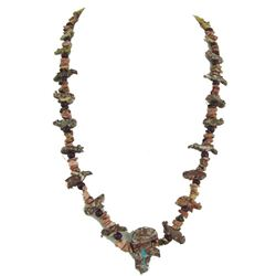 Pueblo Fetish Necklace