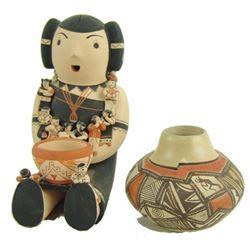 Acoma & Cochiti Pottery Items