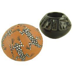 2 Small Pueblo Pots