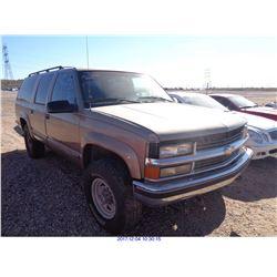 1996 - CHEVROLET SUBURBAN 1500