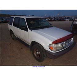 1997 - FORD EXPLORER// SALVAGE TITLE