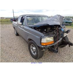 1992 - FORD F-150//SALVAGE TITLE