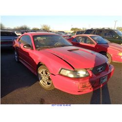 2001 - FORD MUSTANG//RESTORED SALVAGE