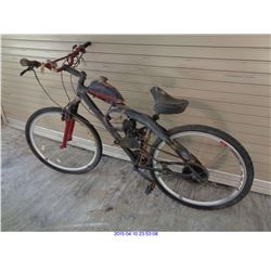 3 MOTORIZED BICYCLES