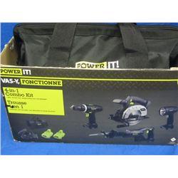 New 18 volt drill/skillsaw/recip saw/ flashlight