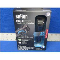 New Braun Beard Trimmer