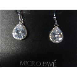New Micro Pave earings Cubic Zirconia