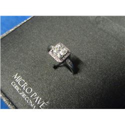 New Micro Pave ring cubic Zirconia