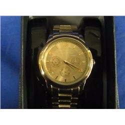 New copper tone watch