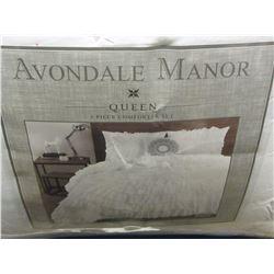 New 5pc Avondale Manor Queen Comforter set