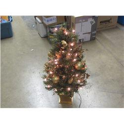 """36"""" Christmas tree with lights"""
